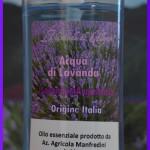 Acqua di lavanda con olio essenziale di Lavanda Angustifolia