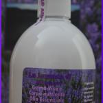 Crema per viso e corpo nutriente, con olio essenziale di Lavanda Angustifolia e olio di Argan biologico